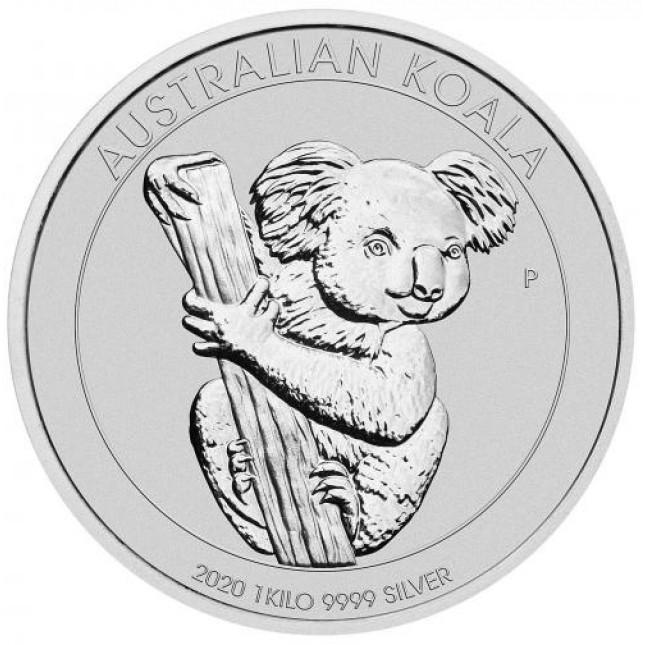 2020 Australia 1 Kilo Silver Koala
