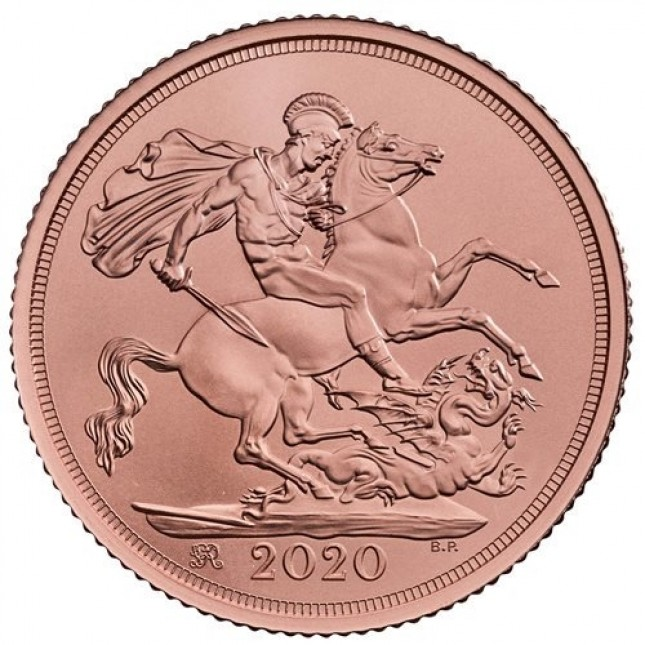 2020 Great Britain Gold Double Sovereign (BU)