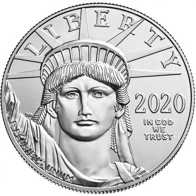 2020 American 1 Oz Platinum Eagle (BU)
