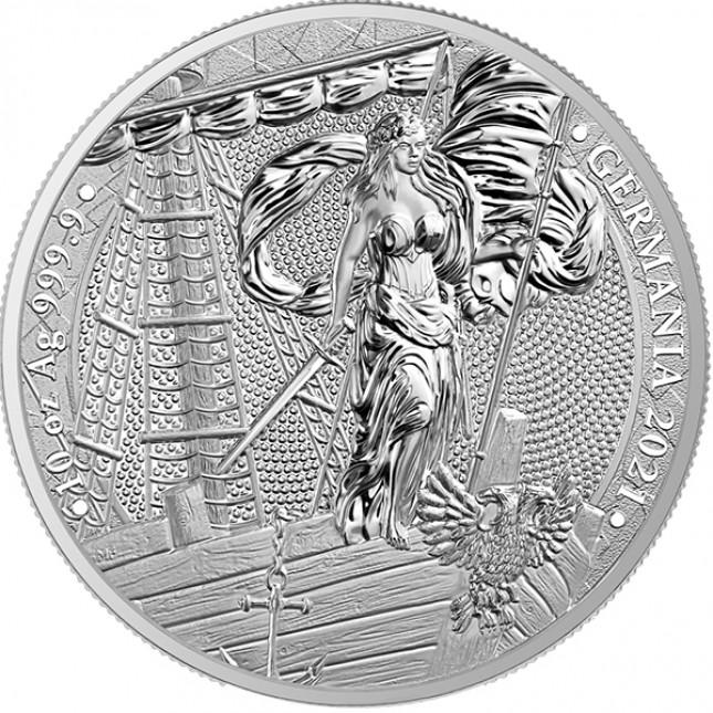 2021 10 Oz Germania Silver Round (BU)