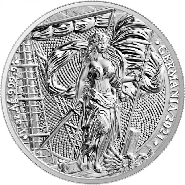 2021 1 oz Germania Silver Round (BU)