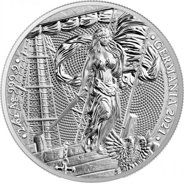 2021 2 Oz Germania Silver Round (BU)