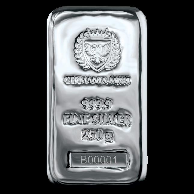 Germania Mint 250 Gram Silver Bar (New)
