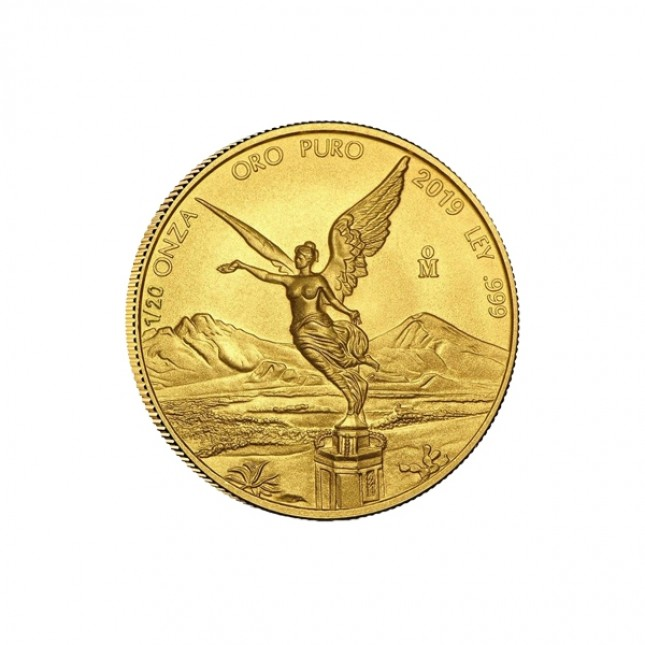 2019 1/20 Oz Mexican Gold Libertad (BU)