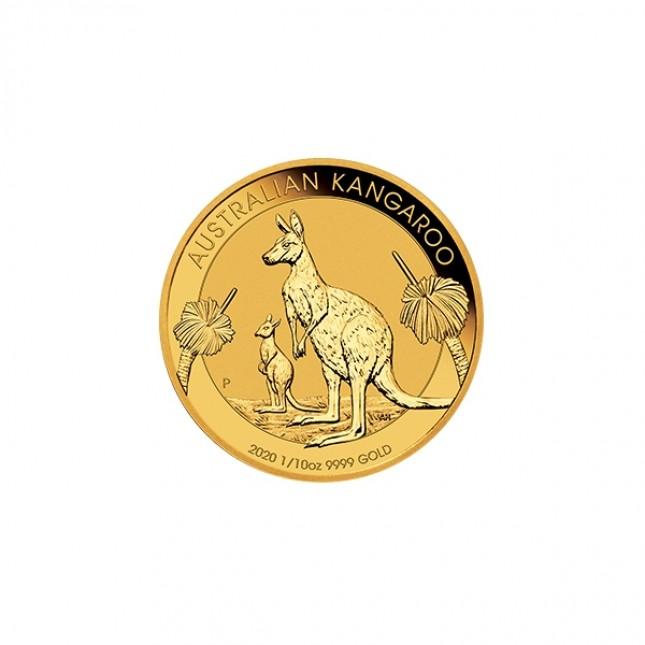 2020 Australia 1/10 Oz Gold Kangaroo (BU)