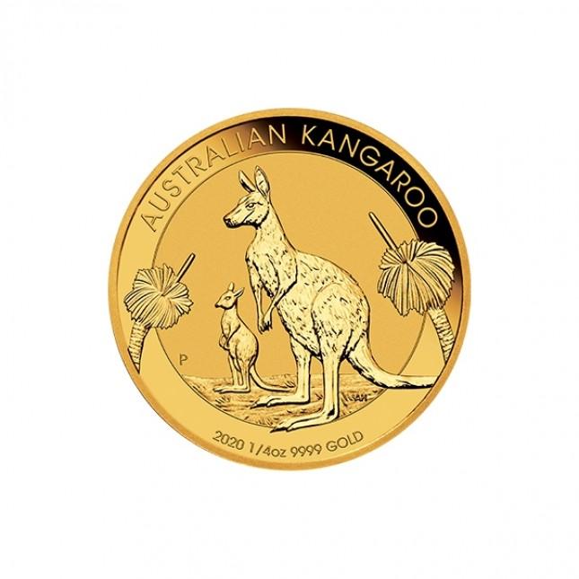 2020 Australia 1/4 Oz Gold Kangaroo (BU)