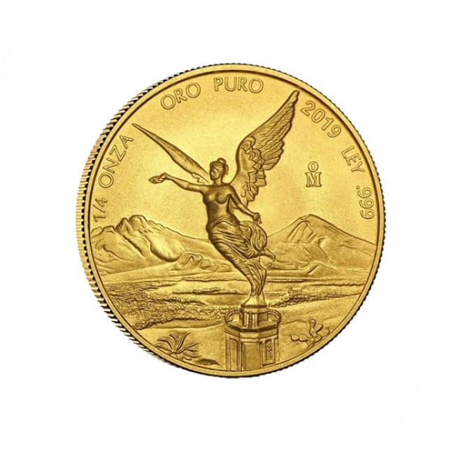 2019 1/4 Oz Mexican Gold Libertad (BU)