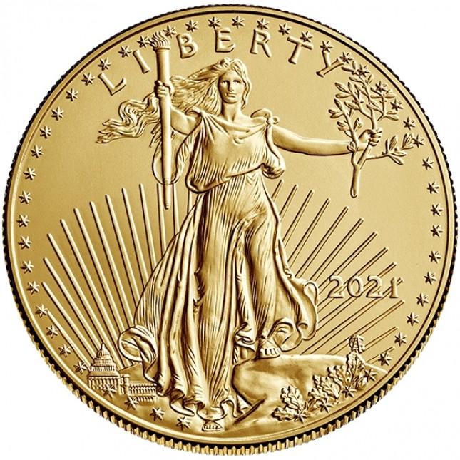2021 1/4 Oz American Gold Eagle (BU)