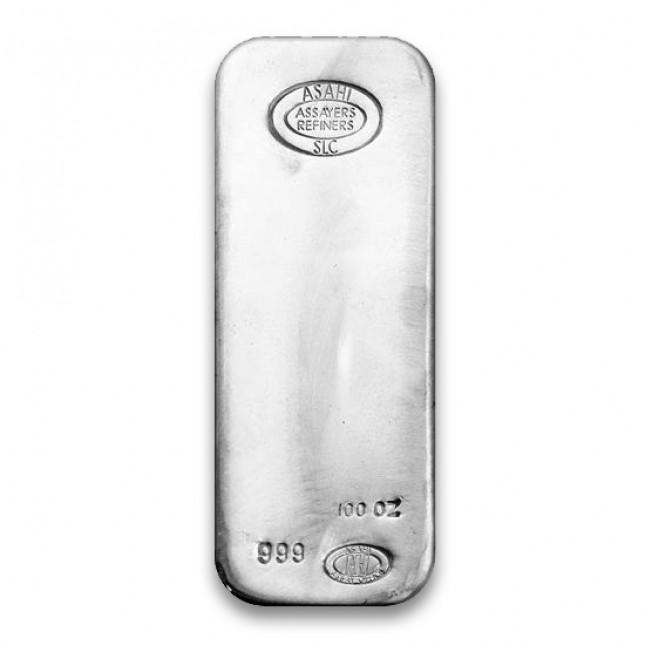 Asahi 100 Oz Silver Bar