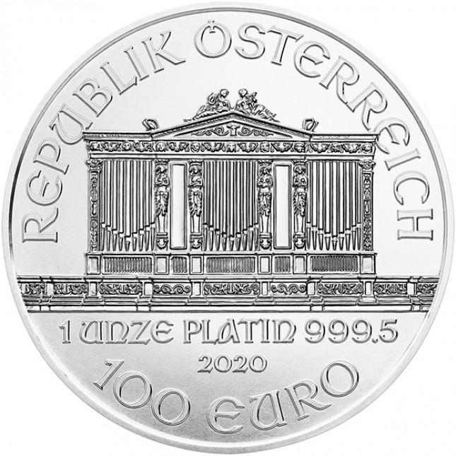 2020 Austria 1 Oz Platinum Philharmonic (BU)