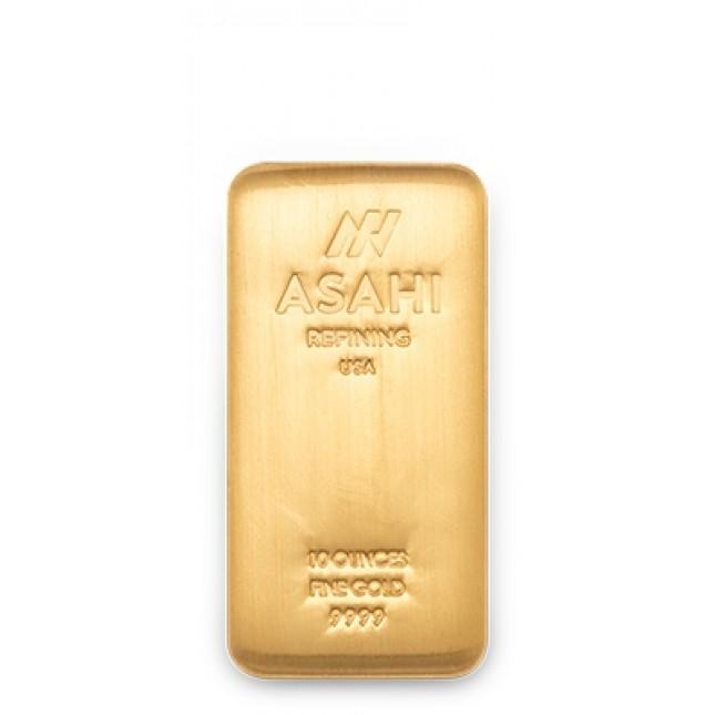 Asahi 10 oz Gold Bar
