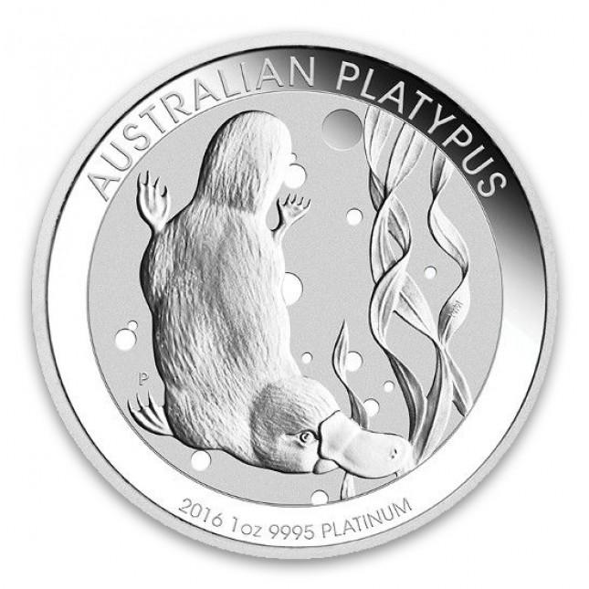 Australia 1 Oz Platinum Platypus BU (Random Year)