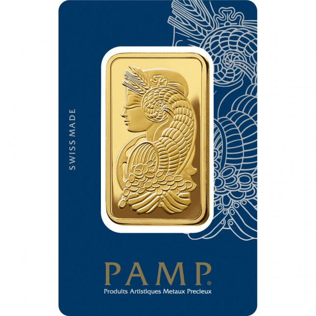 100 Gram PAMP Suisse Gold Bar (In Assay)