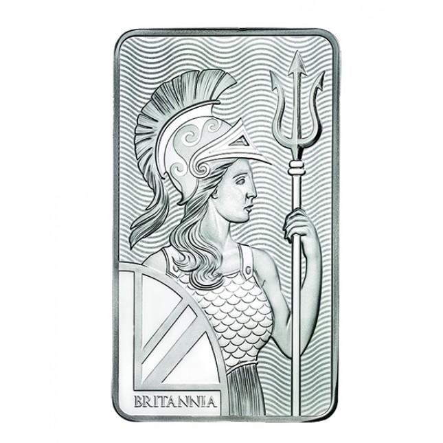 10 Oz Royal Mint Britannia Silver Bar