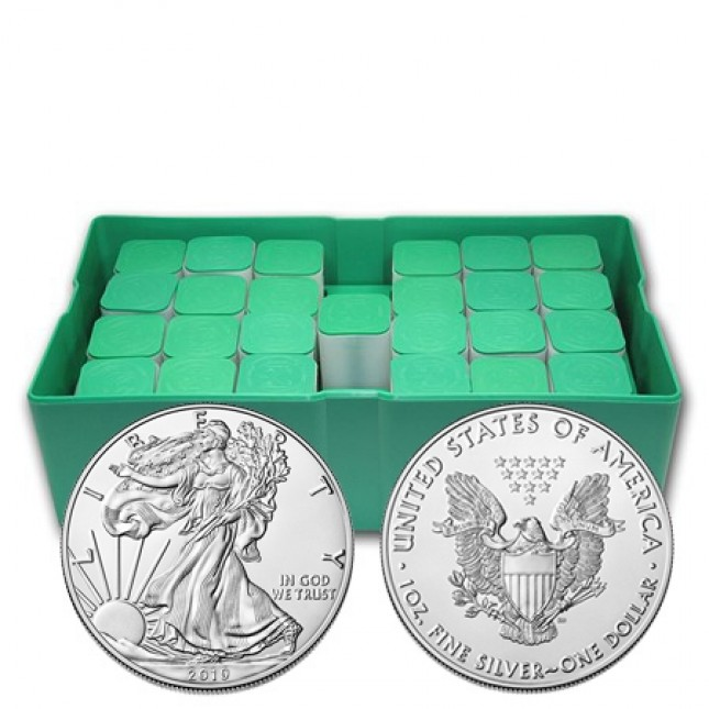 2019 American Silver Eagle Monster Box of 500 Coins