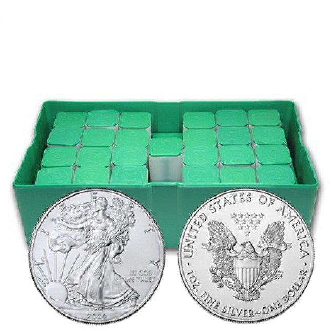 2020 American Silver Eagle Monster Box