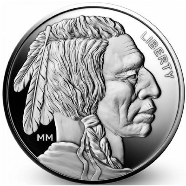 1 Oz Silver Round | Mason Mint Buffalo Design (New)