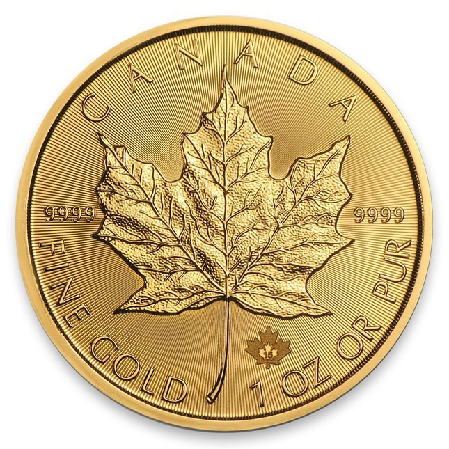 Random Date 1oz Gold Maple