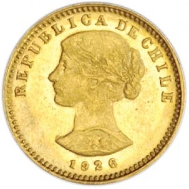 Chile Gold 20 Pesos Avg Circ (Random Date)