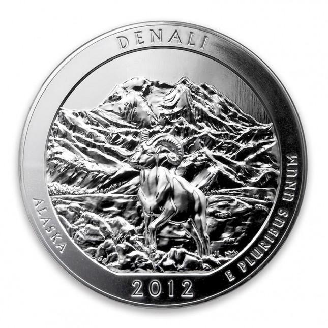 2012 ATB 5 oz Silver Denali National Park (BU)