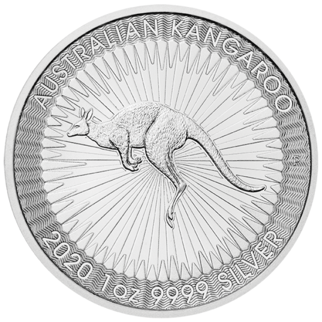 2020 1 Oz Australia Silver Kangaroo (BU)