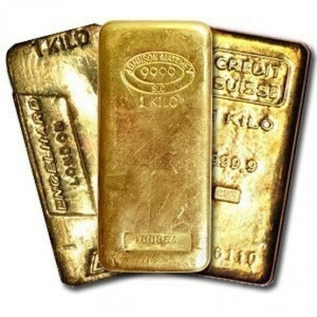 1 Kilo .999 Gold Bar (32.15 oz) - Brand of Our Choice