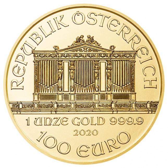 2020 Austria 1 Oz Gold Philharmonic