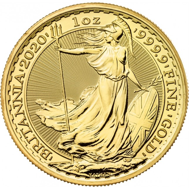 2020 Great Britain 1 Oz Gold Britannia (BU)