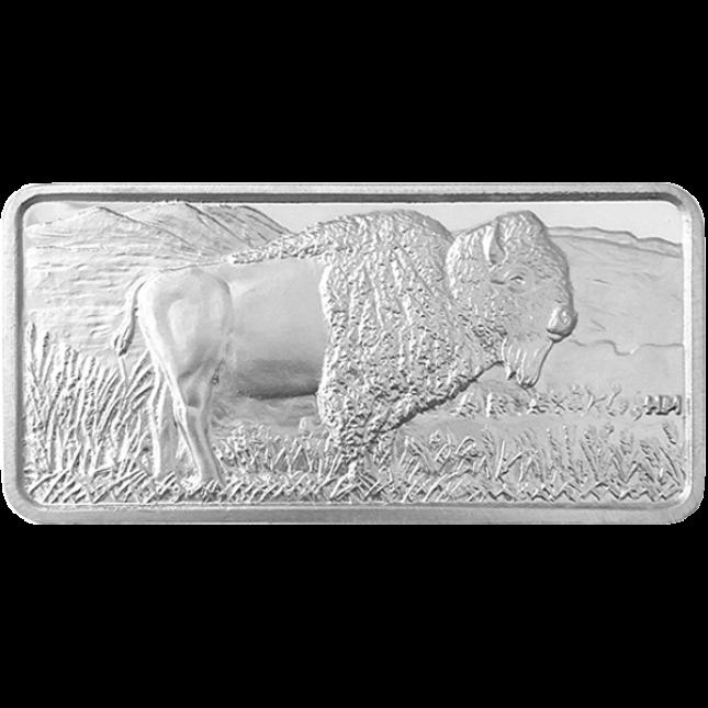 10 oz Silver Bar | Buffalo Design