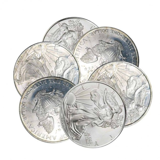 Off-Quality American Silver Eagles (Random Date)