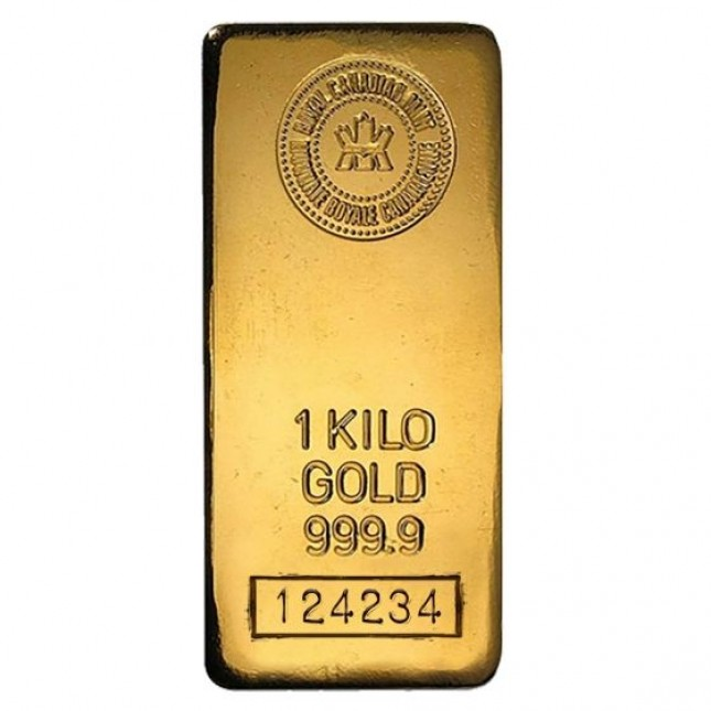 Royal Canadian Mint RCM Kilo (32.15 oz) Gold Bar