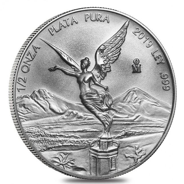 2019 1/2 Oz Mexican Silver Libertad Coin (BU)