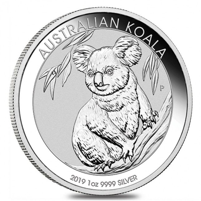 2019 Australia 1 Oz Silver Koala