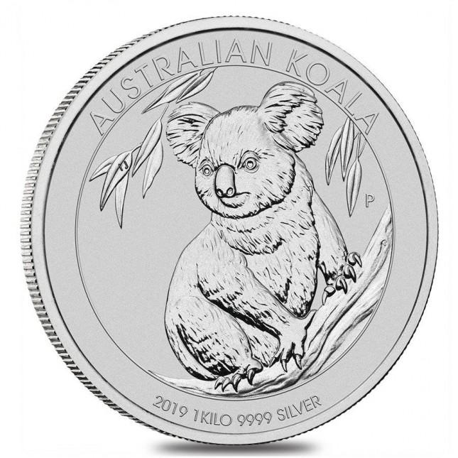 2019 Australia 1 Kilo Silver Koala