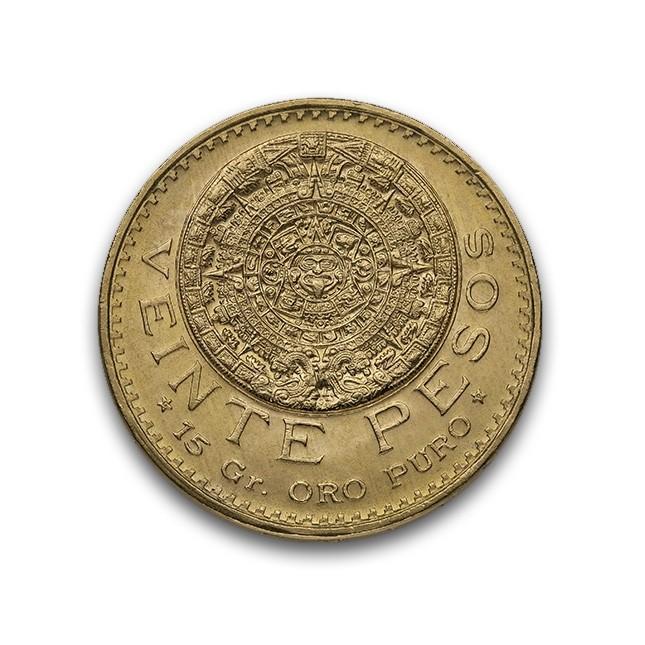 Mexico Gold 20 Pesos (Random Year)