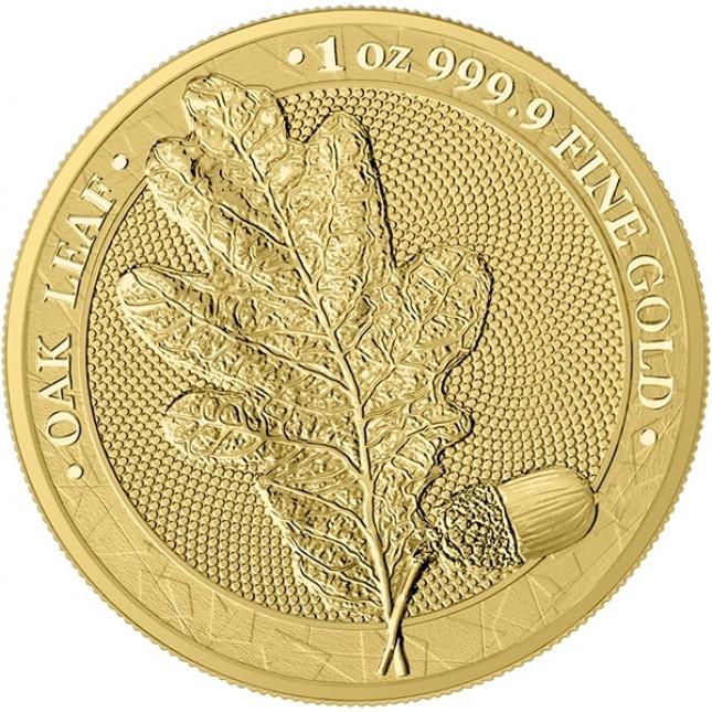 1 oz Gold Round | The Oak Leaf 2019 (BU)