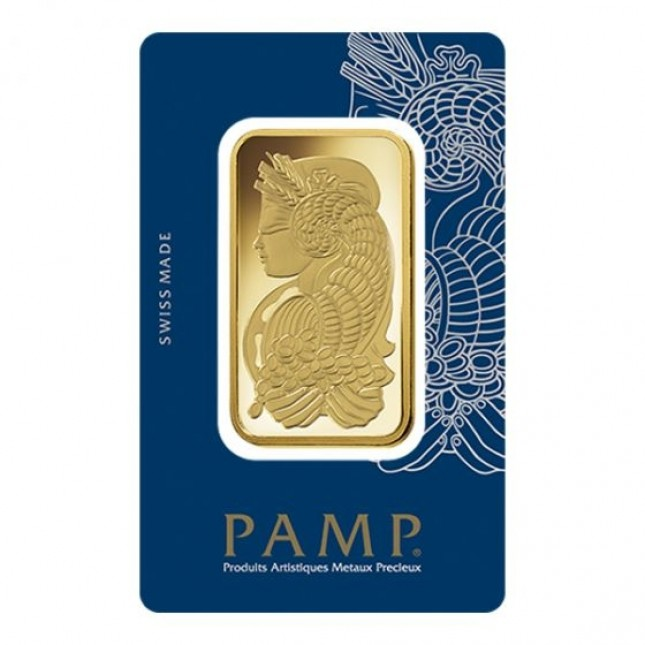 50 Gram PAMP Suisse Gold Bar (In Assay)