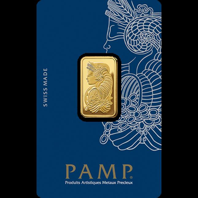 10 Gram PAMP Suisse Gold Bar (In Assay)