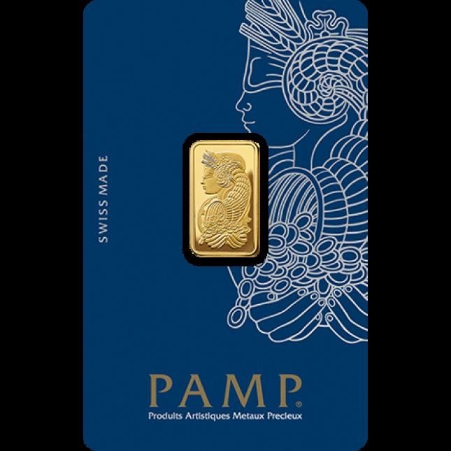 5 Gram PAMP Suisse Gold Bar (In Assay)