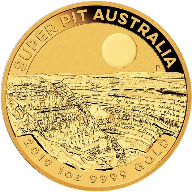 "2019 Australia 1 Oz Gold ""Super Pit"""