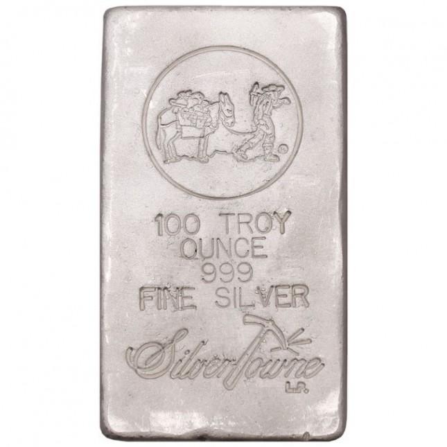 SilverTowne Poured | 100 Oz Silver Bar