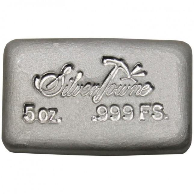 SilverTowne Poured | 5 Oz Silver Bar