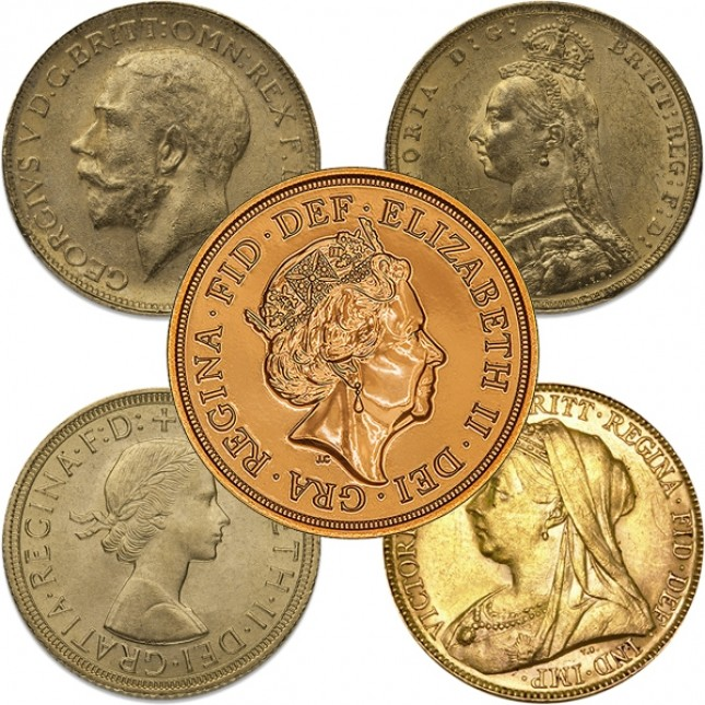 British Gold Sovereign (Date/Type Of Our Choice)