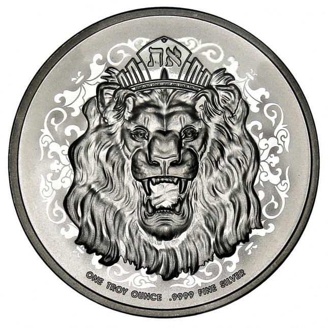 2021 Niue 1 Oz Roaring Lion Silver Coin (BU)