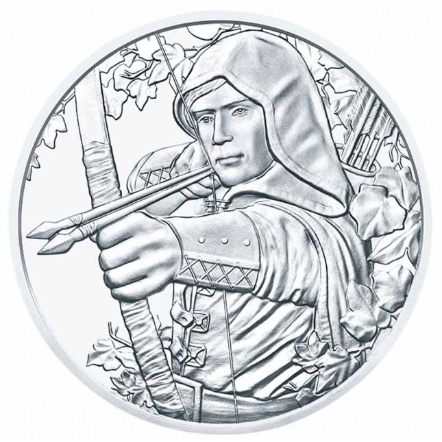 2019 Austria 1 oz Silver Robin Hood (BU) - 825th Anniversary