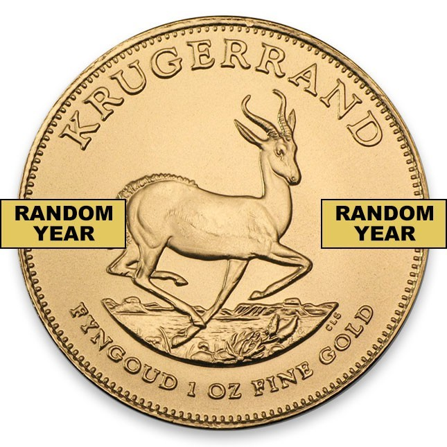 South Africa 1 Oz Gold Krugerrand Coin Reverse