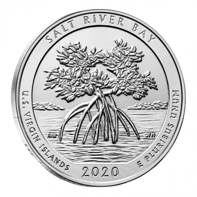2020 5 Oz Silver ATB Salt River Bay National Historic Park (BU)