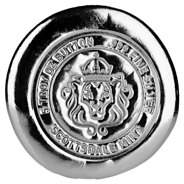 Scottsdale Mint 5 oz Silver Button Round