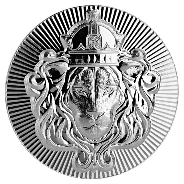 Scottsdale Mint 2 oz Silver Stacker Round