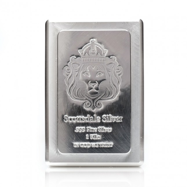 Scottsdale Mint 1 Kilo Silver Stacker Bar